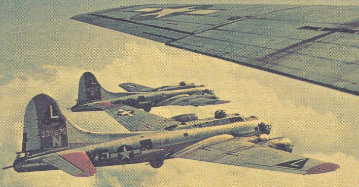 Самолет В-17 Летающая крепость