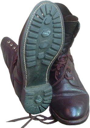 army boots roughout